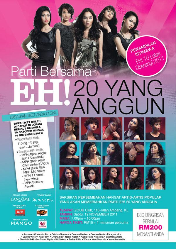 poster 20anggun3 Parti bersama EH! 20 Yang Anggun