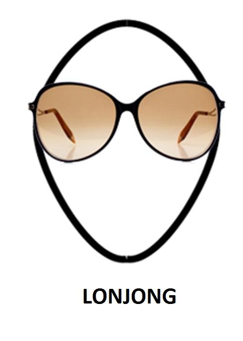 kaca mata dan bentuk wajah Lonjong