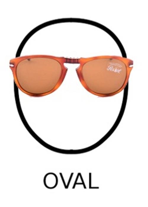 kaca mata dan bentuk wajah oval