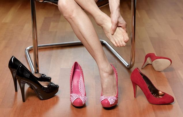 Kesan Pemakaian Kasut Tinggi Kepada Kesihatan