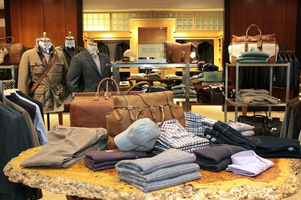 Contributed photoA view of the men's department