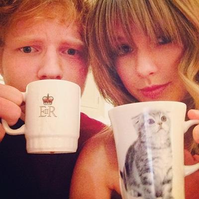 Ed Sheeran & Taylor Swift2