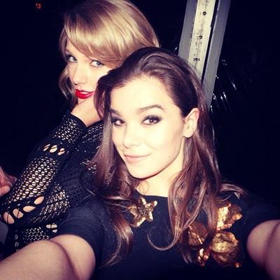 Hailee Steinfeld & Taylor Swift2