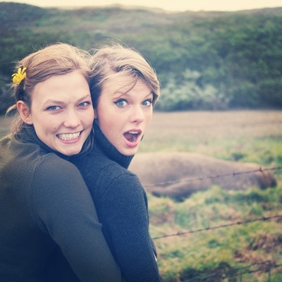 Karlie Kloss & Taylor Swift2