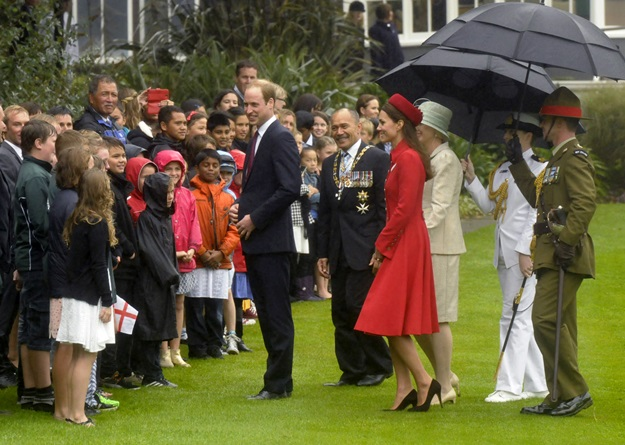 The Duke And Duchess Of Cambridge New Zealand Tour