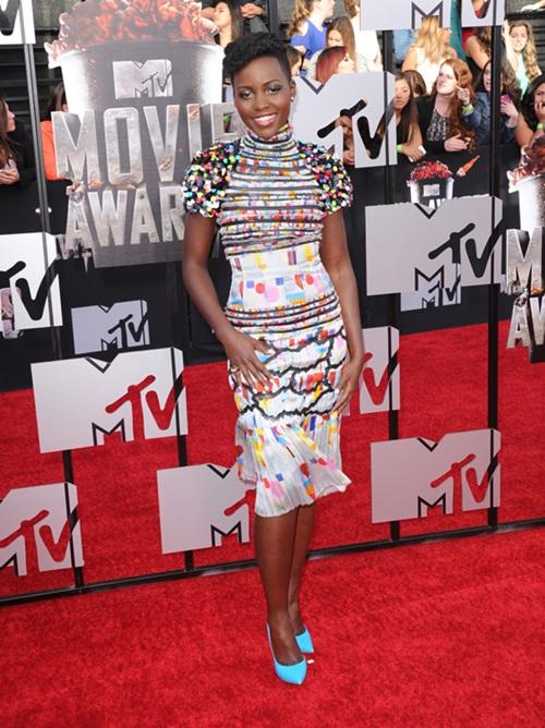 2014 Mtv Movie Awards -Arrivals