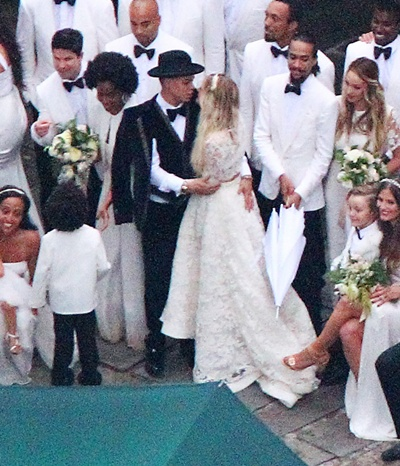 Exclusive... Ashlee Simpson Marries Evan Ross In Connecticut - NO WEB USE