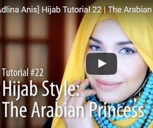Tutorial Hijab dengan Rantai Dempak