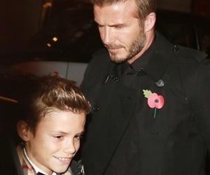 Giliran Romeo Beckham