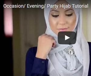 Tutorial Hijab ke Majlis Istimewa