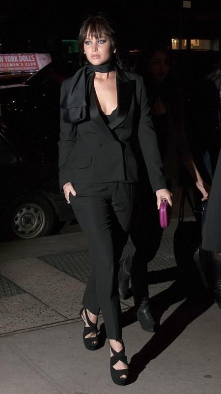 Jennifer Lawrence Screening of 'Silver Linings Playbook' held at Florence Gould Hall - Arrivals New York City, USA - 11.11.12 Credit: (Mandatory): Ivan Nikolov/WENN.com
