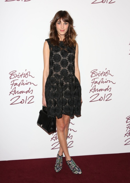 The British Fashion Awards 2012 held at The Savoy - arrivals