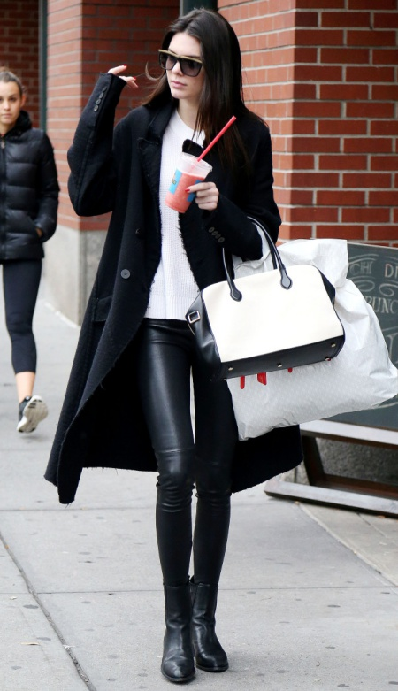 Kendall Jenner out for some shopping in New York City