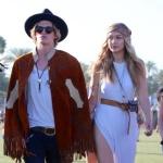 Cody Simpson and Gigi Hadid at Coachella day 3