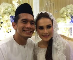 Fahrin Ahmad Kahwin Elena Hani