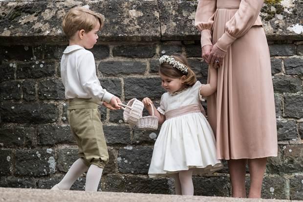Putera George & Puteri Charlotte