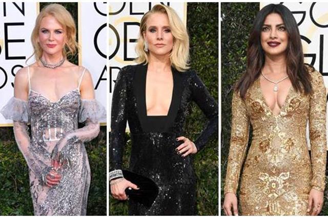 Selebriti Hollywood Paling Seksi Di Golden Globe 2017