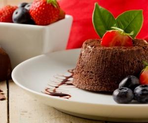 Resipi Mudah Coklat Lava