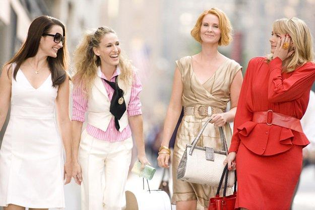 SEX AND THE CITY: THE MOVIE (2008) - CATTRALL, KIM - DAVIS, KRISTIN - NIXON, CYNTHIA - PARKER, SARAH JESSICA. Credit: DARREN STAR PROD./HBO FILMS/NEW LINE CINEMA / BLANKENHORN, CRAIG / Album