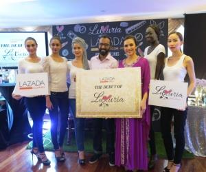 Kolaborasi Lazada dan Luxuria Cosmetics