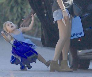 Gambar Aksi Anak Kourtney Kardashian Jadi Perhatian