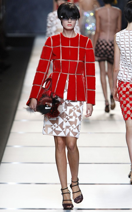 Fendi RTW Spring Summer 2014 Milan Fashion Week September 2013