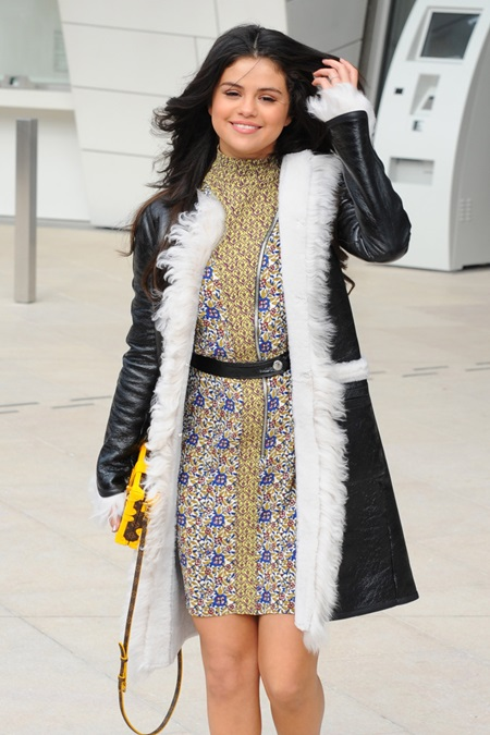 Paris Women Fashion Week Fall/Winter 2015 - Louis Vuitton - Arrivals Featuring: Selena Gomez Where: Paris, France When: 11 Mar 2015 Credit: WENN.com **Not available for publication in Italy**