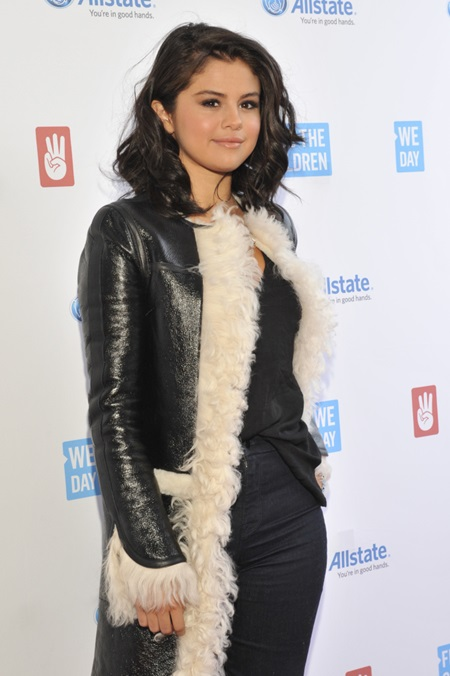 2015 We Day held at the Allstate Arena in Rosemont - Arrivals Featuring: Selena Gomez Where: Chicago, Illinois, United States When: 30 Apr 2015 Credit: Ray Garbo/WENN.com