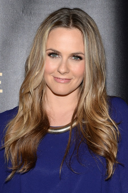 Actress Alicia Silverstone attends the 30th Annual Lucille Lortel Awards at NYU Skirball Center in New York, NY, on May 10, 2015. (Photo by Anthony Behar) *** Please Use Credit from Credit Field ***