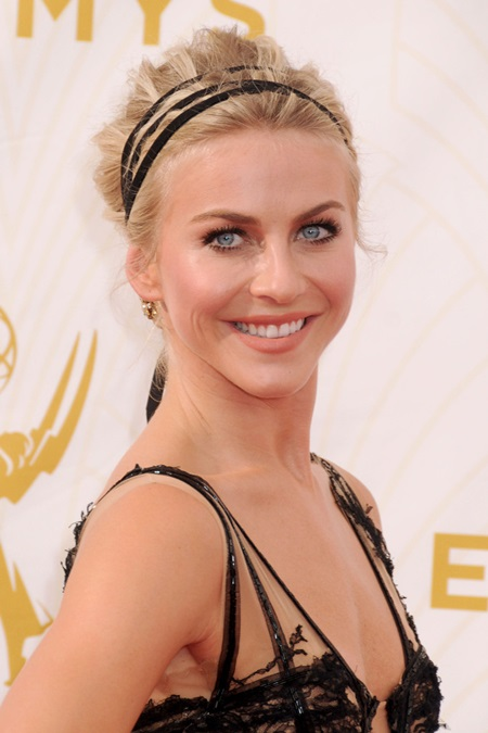 20 September 2015 - Los Angeles, California - Julianne Hough. 67th Annual Primetime Emmy Awards - Arrivals held at Microsoft Theater. Photo Credit: Byron Purvis/AdMedia Photo via Newscom