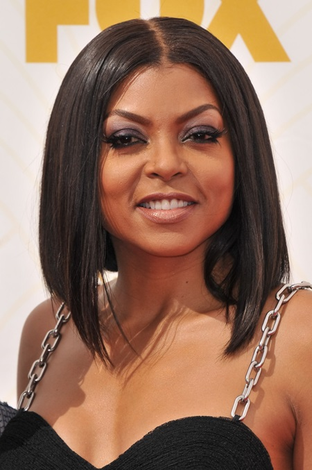 Taraji P. Henson at the 67th Emmy Awards held at Microsoft Theater in Los Angeles, CA on September 20, 2015.