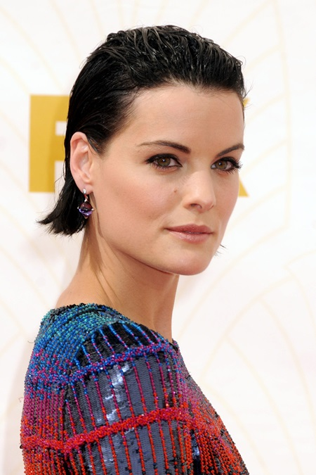 20 September 2015 - Los Angeles, California - Jaimie Alexander. 67th Annual Primetime Emmy Awards - Arrivals held at Microsoft Theater. Photo Credit: Byron Purvis/AdMedia Photo via Newscom