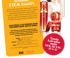 Bengkel Kecantikan bersama EH! & Astalift