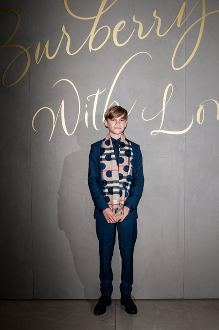 The Burberry Film Festival - VIP premiere, held at Regent Street. Featuring: Romeo Beckham Where: London, United Kingdom When: 03 Nov 2015 Credit: Daniel Deme/WENN.com