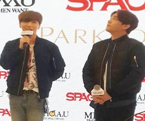 Lee Teuk Dan Kang In Super Junior Di Pelancaran SPAO, Mixxo Dan Who A.U