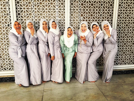 bridemaids Nabila Huda