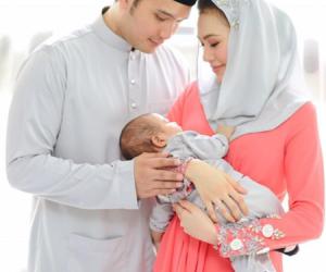 Gambar Majlis Aqiqah Putera Sulung Erin Malek