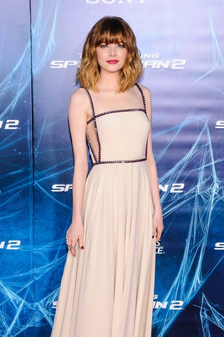 """""""The Amazing Spider-Man 2"""" New York Premiere at The Ziegfeld Theater Featuring: Emma Stone Where: New York, New York, United States When: 24 Apr 2014 Credit: C.Smith/ WENN.com"""