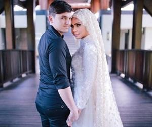 Gambar Ulang Tahun Perkahwinan Rozita Che Wan dan Zain Saidin