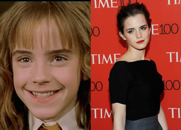 EMMA WATSON THEN AND NOW