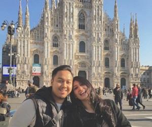 Marsha Milan & Suami Berbulan Madu Di Eropah
