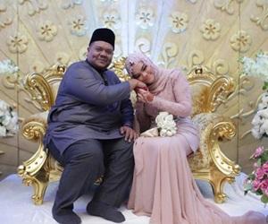 Angah Raja Lawak Selamat Bergelar Suami Kepada Pasangan Pilihan