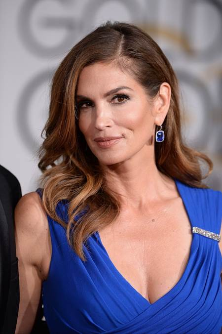Cindy Crawford arriving at the 72nd annual Golden Globe Awards held at the Beverly Hilton in Beverly Hills, Los Angeles, CA, USA, January 11, 2015. Photo By Lionel Hahn/ABACAPRESS.COM