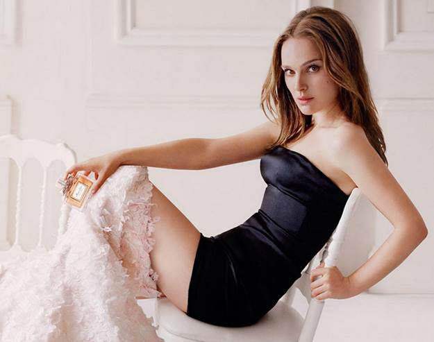 Natalie Portman Gets Seductive in New ÔMiss DiorÕ Fragrance Ad we saw the new Miss Dior film featuring actress Natalie Portman as a runaway bride, and now here is the new dior ad. Natalie plays seductress as she removes a wedding dress to unveil a black lingerie piece underneath. 75596 EDITORIAL USE ONLY Scope Features Agency does not claim any Copyright or License in the attached material.