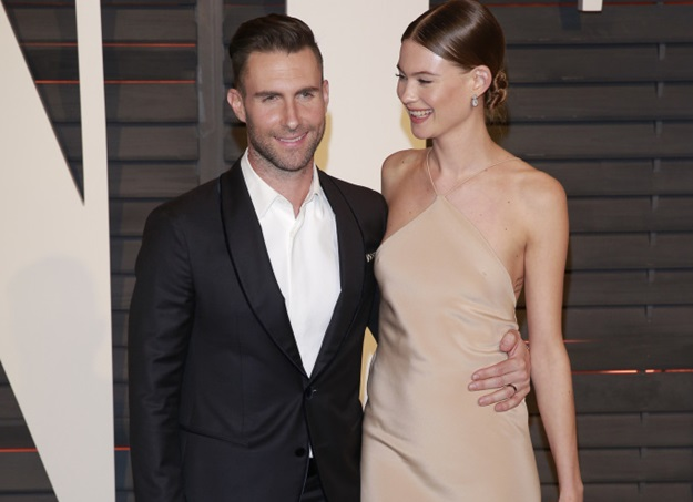 ADAM LEVINE, BEHATI PRINSLOO SINGER AND MODEL VANITY FAIR OSCAR PARTY 2015 LOS ANGELES, , USA 23 February 2015 DIT77021 Photo via Newscom