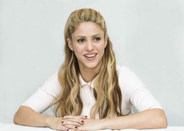 Feb. 17, 2016 - Hollywood, California - Portraits of Shakira during during an interview session in Hollywood for her latest movie Zootopia, where she sing ''Try Everything' (Credit Image: © Armando Gallo/Arga Images via ZUMA Wire)