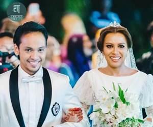 Sembilan Tahun Bercinta Akhirnya Jihan Muse Berkahwin