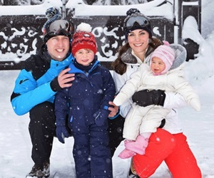 Gambar Percutian Ski Kerabat Diraja Britain