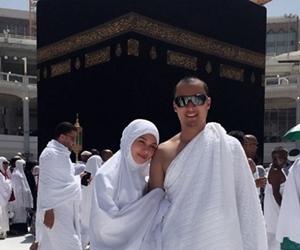 Anzalna Nasir Selamat Tunai Umrah Bersama Suami