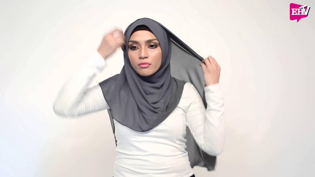 Tutorial Hijab : Benang Hijau X EH! (Gaya Anggun Moden)